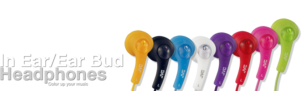 JVC In Ear eHeadphones