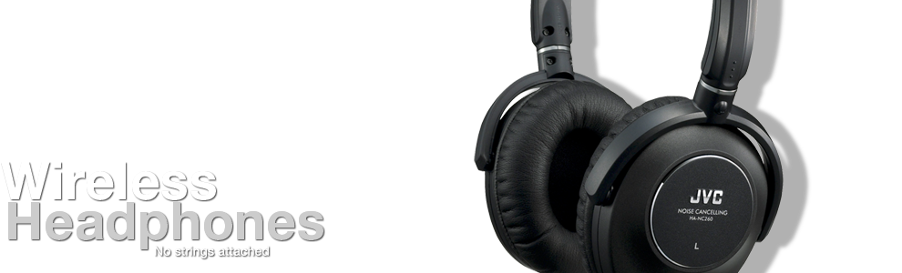 JVC Noise Canceling Headphones