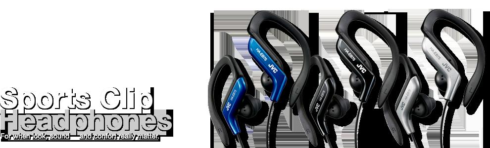 JVC Sport Clip Headphones